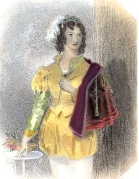VIOLA, Woman Shakspeare, engraving, picture, plates, print