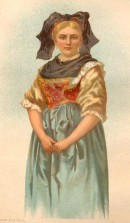 ALSACIENNE, France, Kostume, plate, print, engraving,