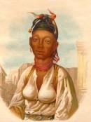 NÉGRESSE DE TOMBOUCTOU (Afrique), Africa, Mali, kostumes, engrav