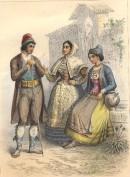 BURGOS, SALAMANQUE, SANTANDER : Spain, engraving, plates, print,
