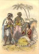 BIRMAN, JAVANAIS : Asia, engraving, plates, print, Java