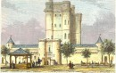 VINCENNES : castle of vincennes, Paris, Parigi, engraving, print