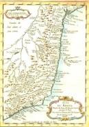BRASIL, BAHIA, RIO DE JANEIRO, Map, 18th map, karte, South ameri
