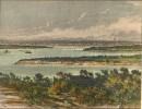 AUSTRALIA : VUE GÉNÉRALE DE SYDNEY, océania, print, plate, engra