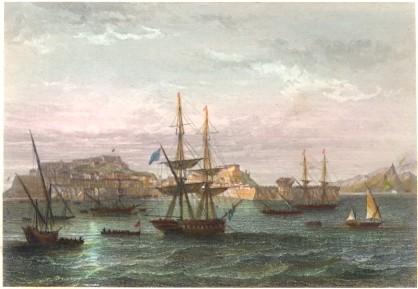 L'ILE D'ELBE : Italia, engraving, print, plate, Napoleon