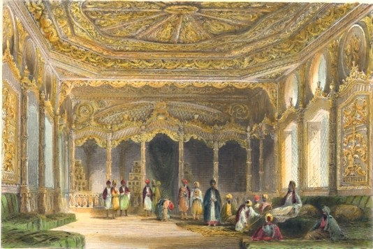 APARTMENT IN THE PALACE OF EYOUB, THE RESIDENCE OF ASMÉ SULTANA,