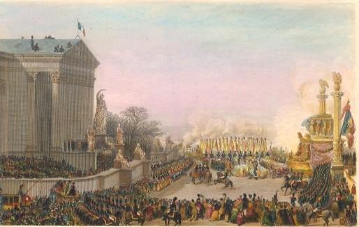 THE FUNERAL OF NAPOLEON, Paris, Napoleon Bonaparte, parigi, fran