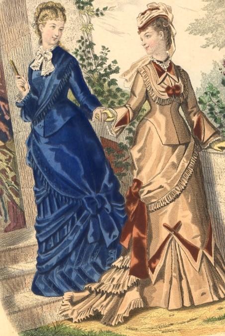 n°30 : LA MODE ILLUSTRÉE, fashion print, engraving, plate, Anaïs