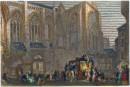 ST JULIANS, TOURS : France, Turner, print, plate, engraving