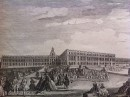PALACE OF VERSAILLES TOWARDS Ye GARDEN : French Castle, print, p