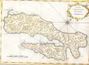 ISLE D'AMBOINE, Carte géographique du 18e siècle, Indonésie, gra