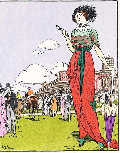 LA GAZETTE DU BON TON : ROBE DE VILLE DE REDFERN, Fashion, stenc