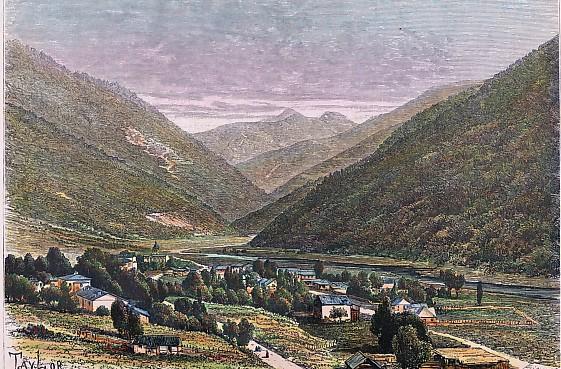 PASSANAOUR - route de Tiflis à Vladikavkaz