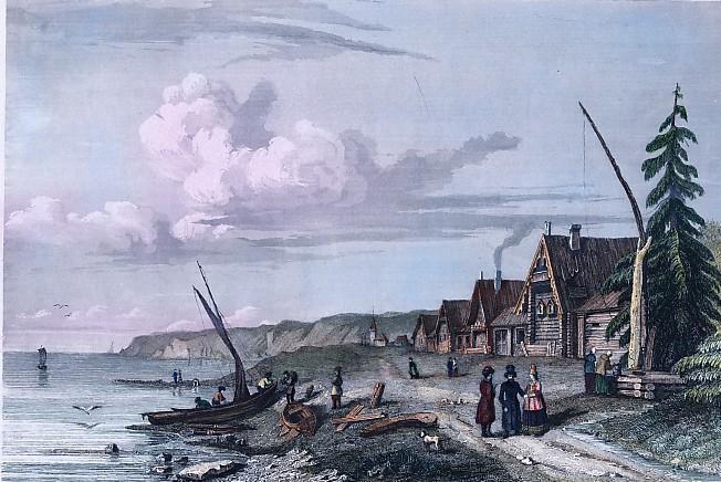 SALOZSKAIA PRÈS ARKANGEL Côte de la Mer Blanche