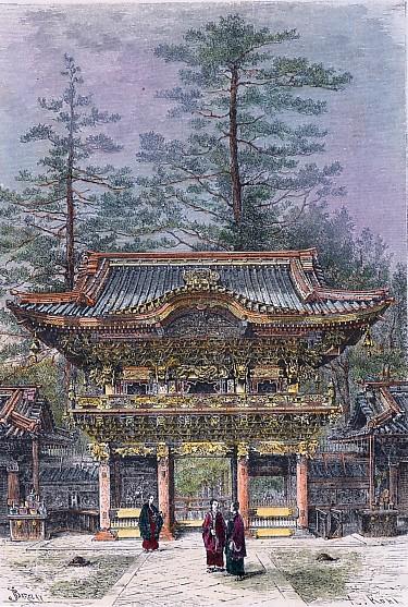 NIKKO Portique d'un temple