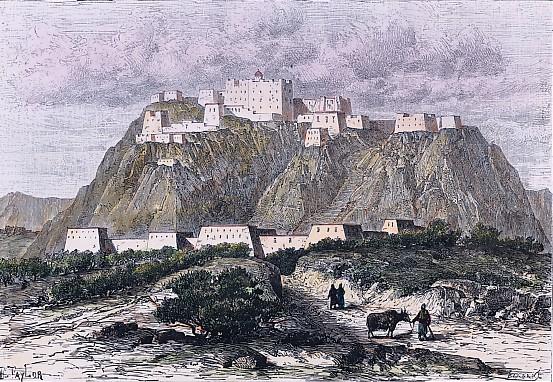 LASSA - couvent de POTALA au XVII° siècle