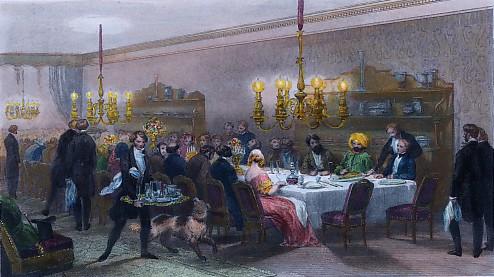 HÔTEL DES PRINCES (Table d'Hôte)