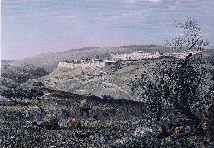 JÉRUSALEM, FROM SCOPUS