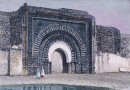 MAROC : LA PORTE DU CHRÉTIEN, MARARAKECH, Morocco, engraving, pl