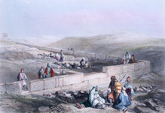 ANCIENT MAZORY NEAR HEBRON