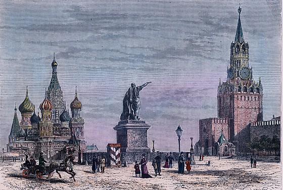 MOSCOU - la place rouge