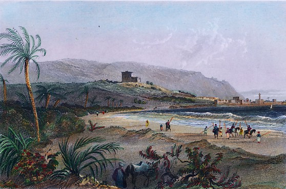 APPROACH TO CAIPHA, BAY OF ACRE