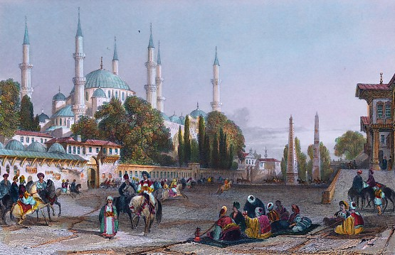 THE ATMEIDAN, OR HIPPODROME & MOSQUE OF ACHMET