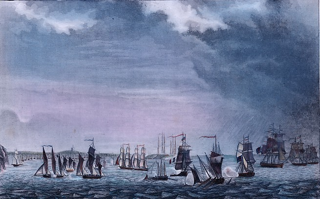 COMBAT DE LA RADE DES BASQUES (1811)
