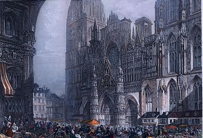 ROUEN (Vue de la Cathédrale)