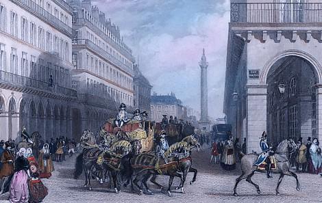 THE ENTRANCE OF AN AMBASSADOR INTO PARIS