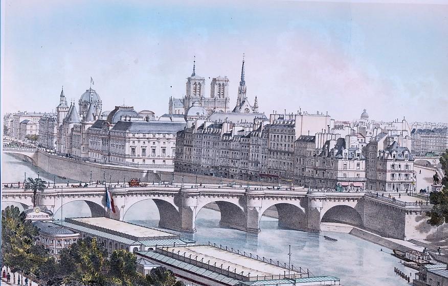 CITÉ ET PONT-NEUF (1876)
