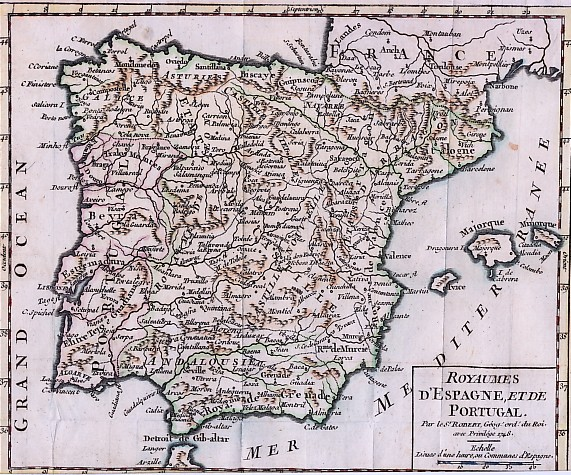 ROYAUMES D'ESPAGNE, ET DE PORTUGAL