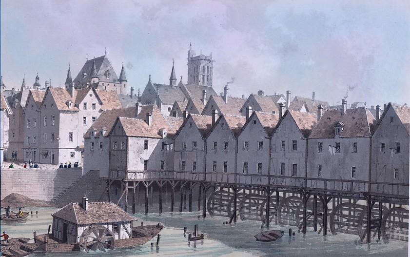 GRAND CHATELET et PONT AU MEUNIER en 1580