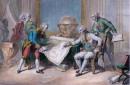 LOUIS XVI donne des instructions à Mr de la Pérouse pour son voyage autour du Monde Juillet 1785