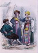 PAYSAN RUSSE FEMMES TARTARE ET FINLANDAISE