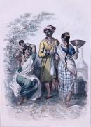 INDIENS FEMME BRAMINE