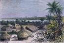 TANGANIKA : Vue prise à OU-DJIDJI