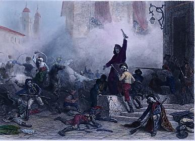 INSURRECTION DE MADRID (2 Mai 1808)