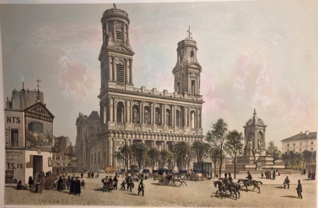 ÉGLISE ST SULPICE et Fontaine de la Place St Sulpice