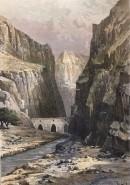 KELAT-I-NADIR,  gorge d'ARGHAVAN-CHAR