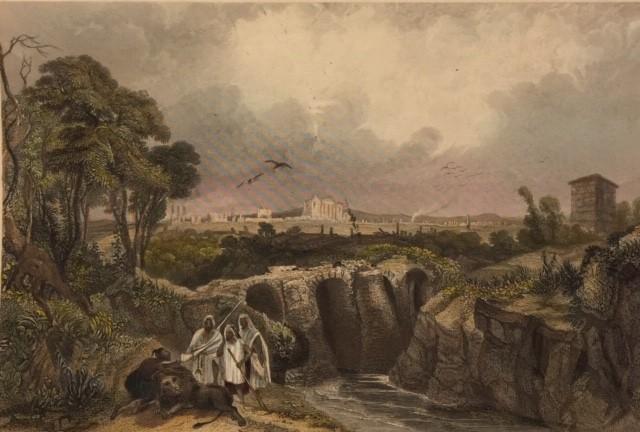 RUINS AT SBEITLAH (THE ANCIENT SUFETULA) TUNIS