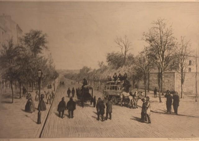 ANCIEN BOULEVART EXTÉRIEUR DE PARIS