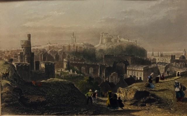 EDIMBOURG (Vue du château)